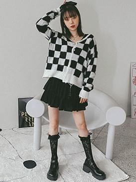 Check Rani Knitwear Cardigan カーディガン / ベスト