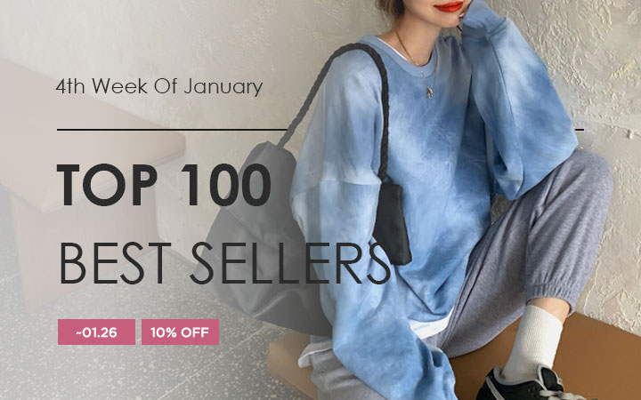 TOP 100 BEST SELLERS - 4th Week Of January
