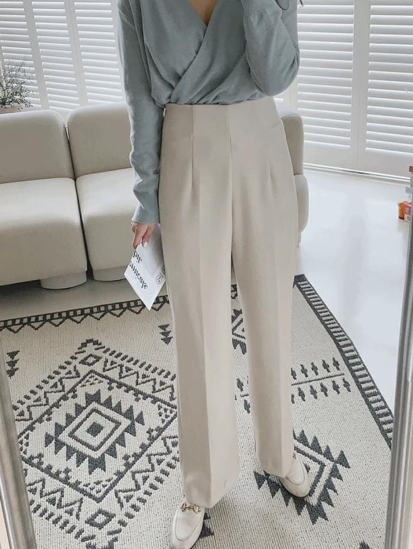 Minimal Zipper Slacks 長褲