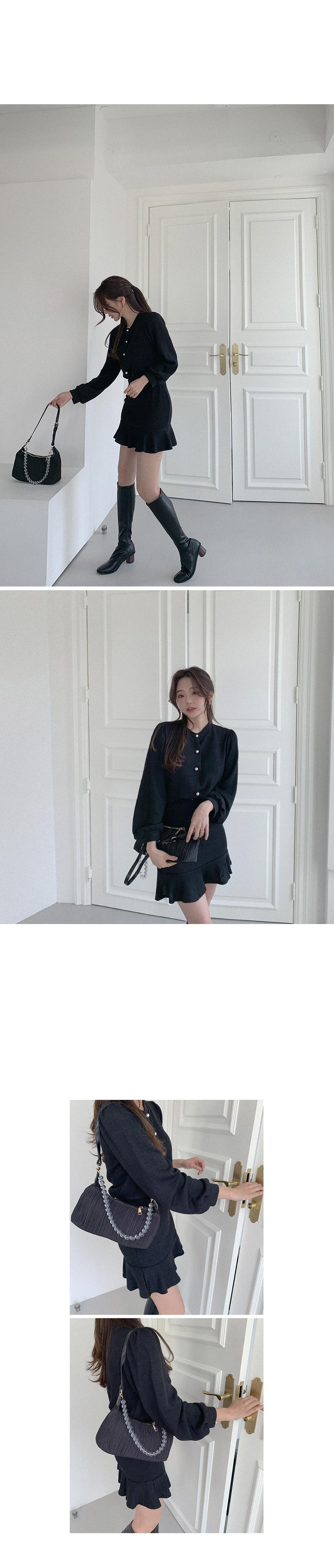 Sweet date cardigan + skirt SET