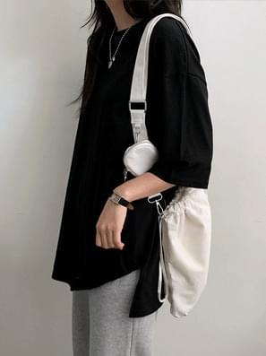 韓國空運 - Bomb Box Layered Short Sleeve Tee 短袖上衣