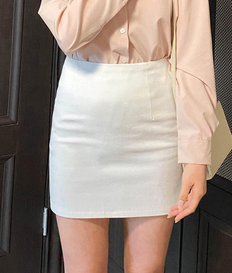 ESSAYSide Zip Mini Skirt skirt