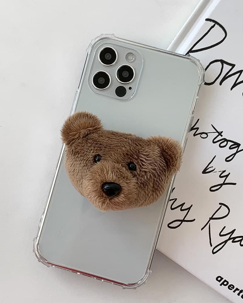 Brown Bear Bear Grip Talk 手機殼
