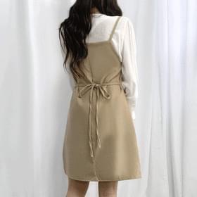 Latte Thong Mini Dress 短裙