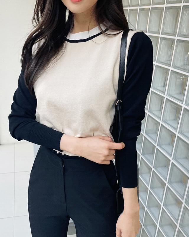 韓國空運 - Ken's Color Round Knitwear 針織衫