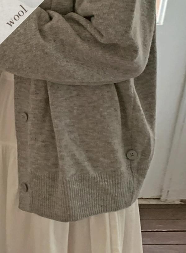 Bru cd / gray 開襟衫