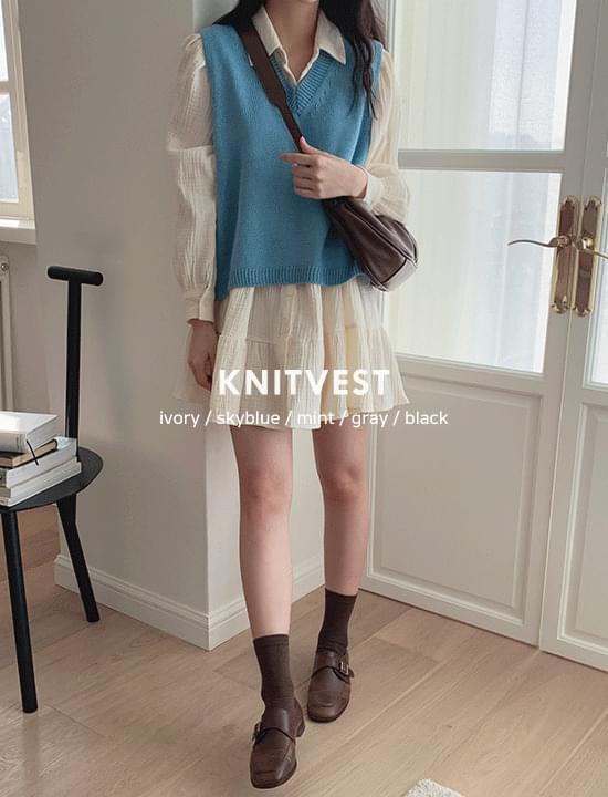 BK Unfoot Knitwear Vest