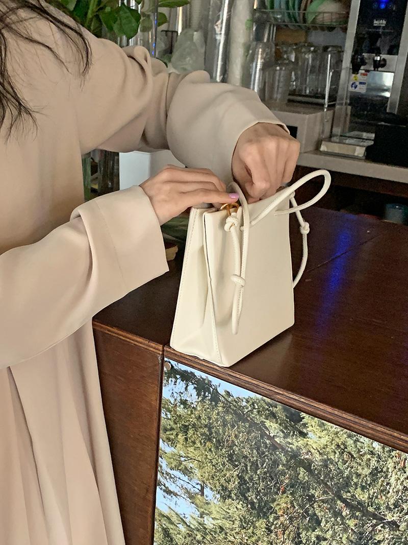 Mini Square Tote & Shoulder Bag