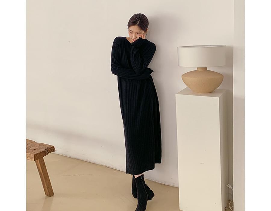 Monica cashmere knit dress