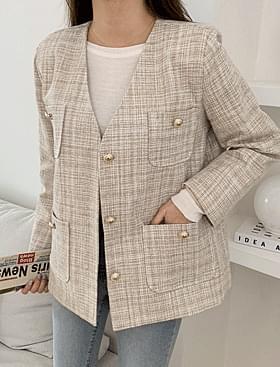 Queen's Tweed Strap JK