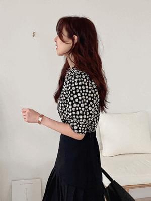 韓國空運 - Daisy Puff Knitwear 針織衫