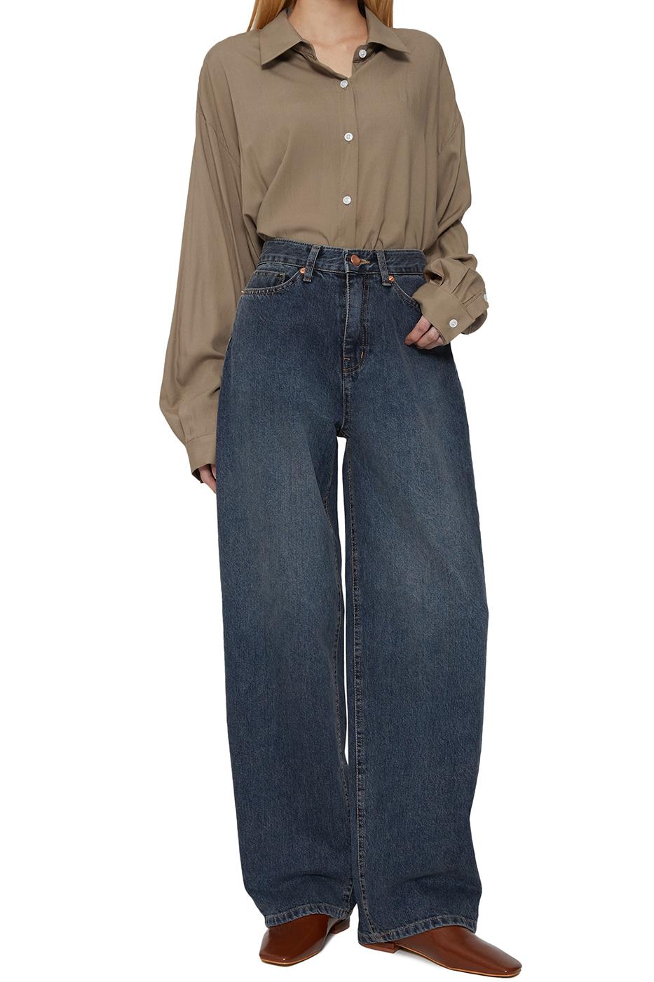 Signature dart wide jeans