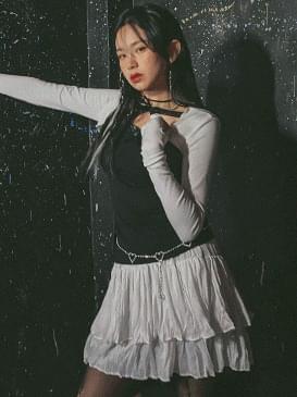tiered-skirt