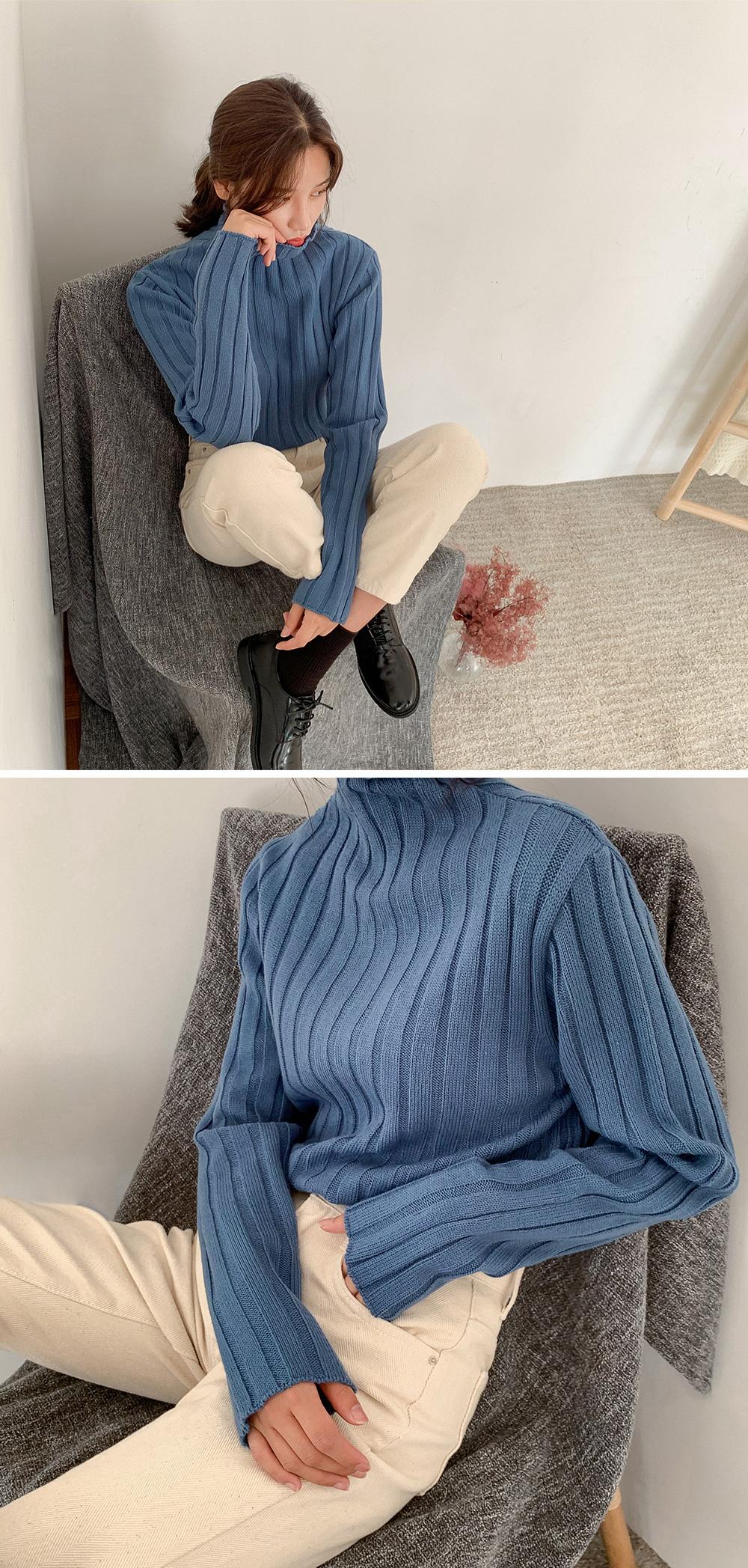 Ribbed weave hayinek Knitwear
