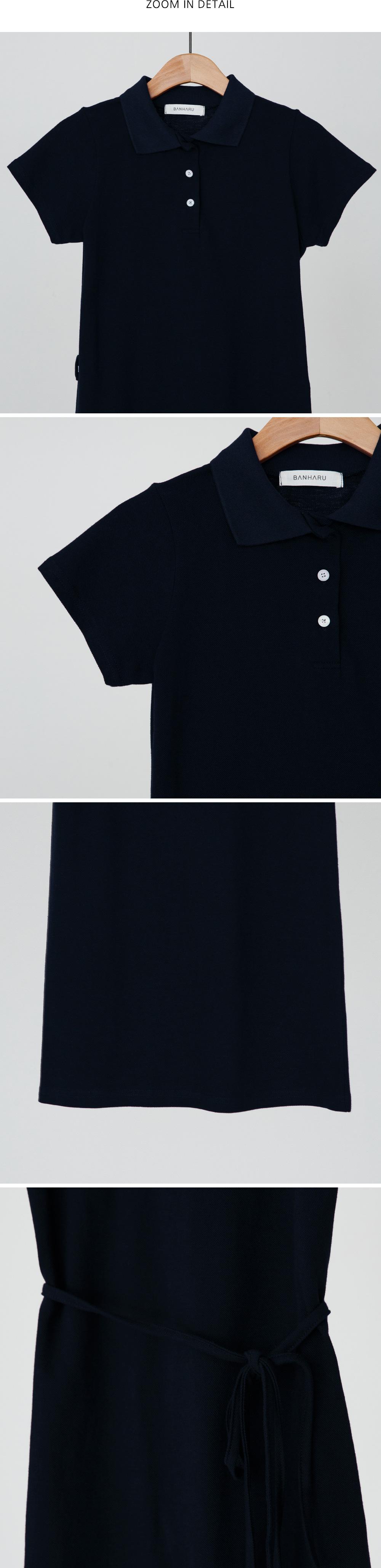 Waist strap PK mini dress