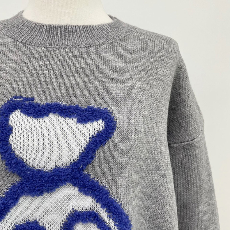 kn3397 Beardolls Round Knit