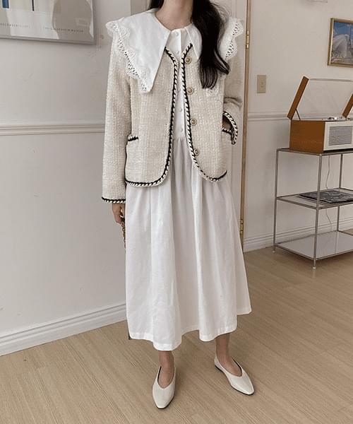 Moa Tweed Jacket-2color
