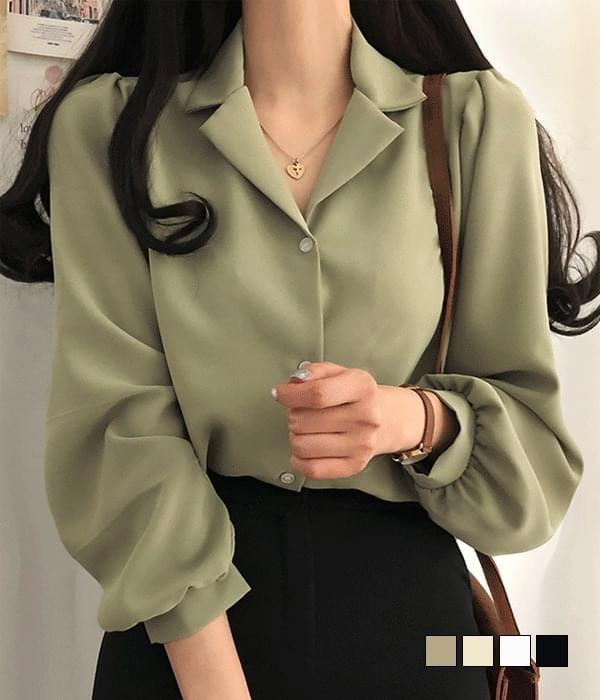 Paris soft touch collar blouse (Delayed delivery)