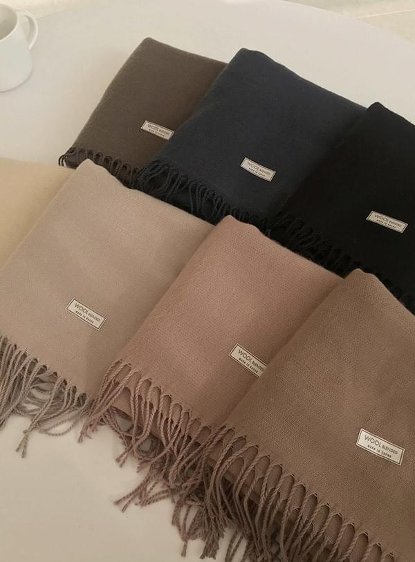 Minnie's wool scarf brown