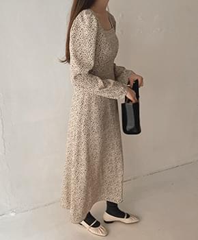 韓國空運 - Polumi flower Dress 長洋裝