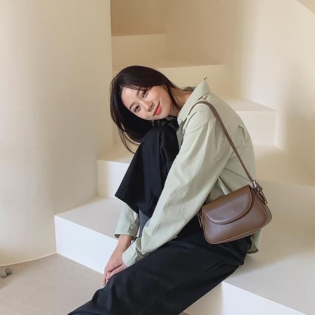 Flap mini shoulder bag