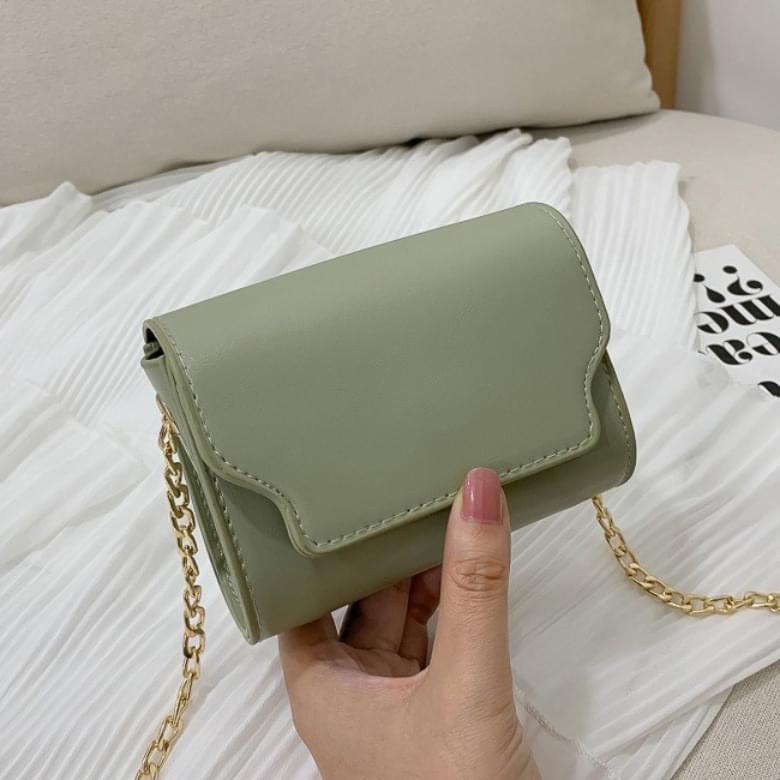 韓國空運 - Bellus Mini Fashion Cross Square Chain Shoulder Bag 肩背包