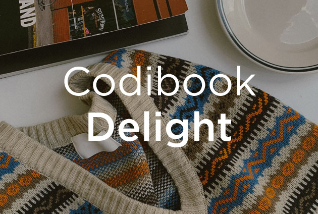 Codibook Delight