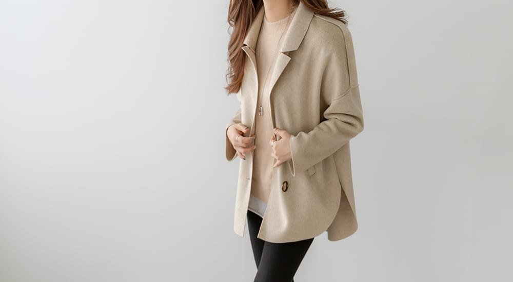 Nice and Stylish Wool Jacket #65698