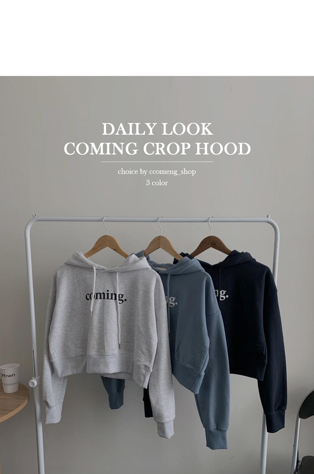 Coming Crop Hooded Tea