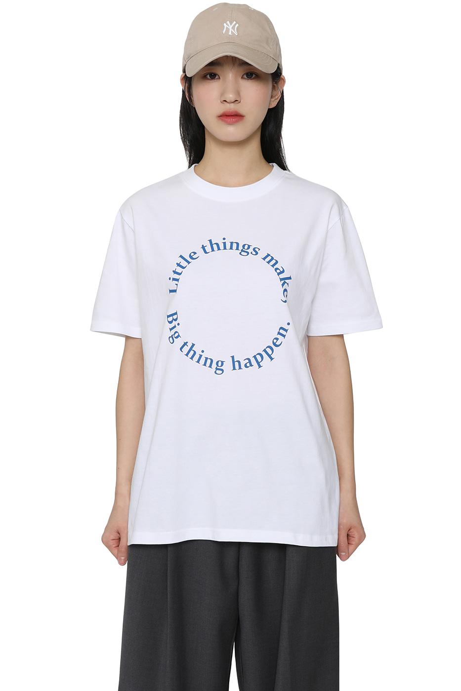 Happy short sleeve T-shirt