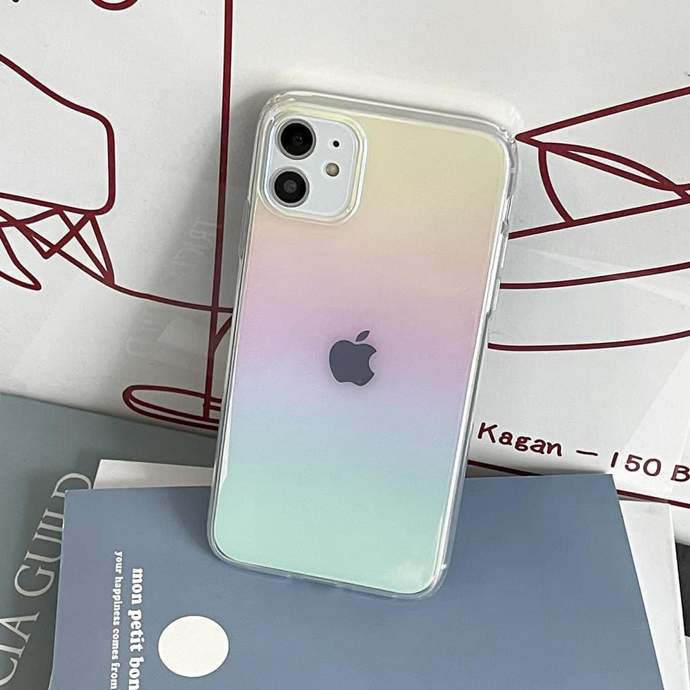 Yuyu Aurora Gradient iPhone Case
