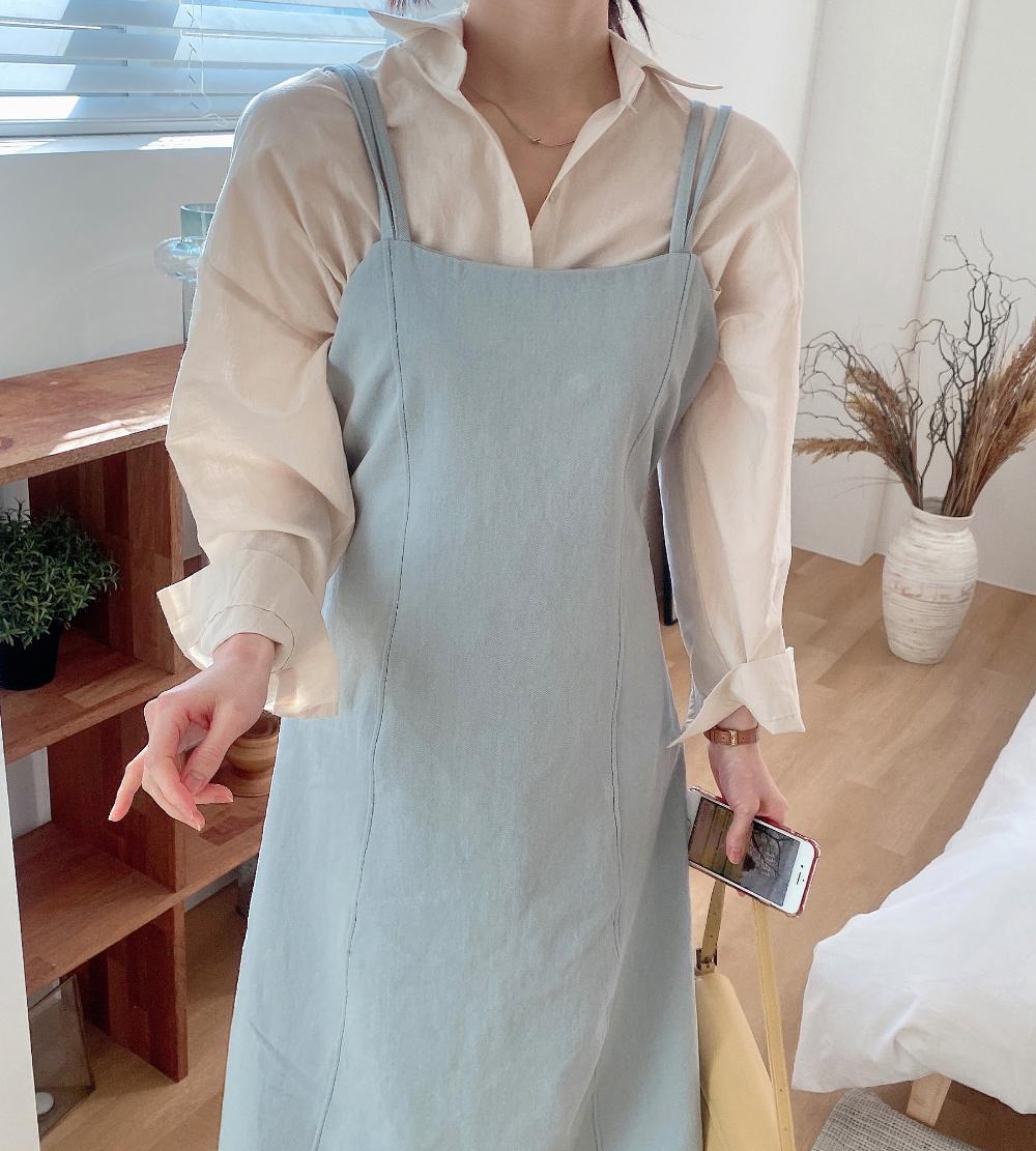 Doing Denim Bustier Dress