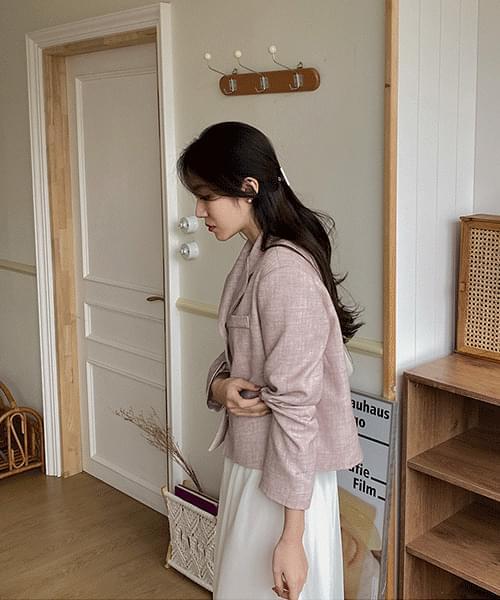 韓國空運 - Heidi Short Jacket-3color 夾克外套