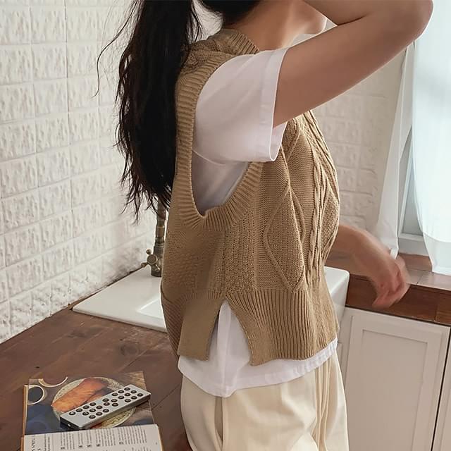 Fisherman Knitwear Vest