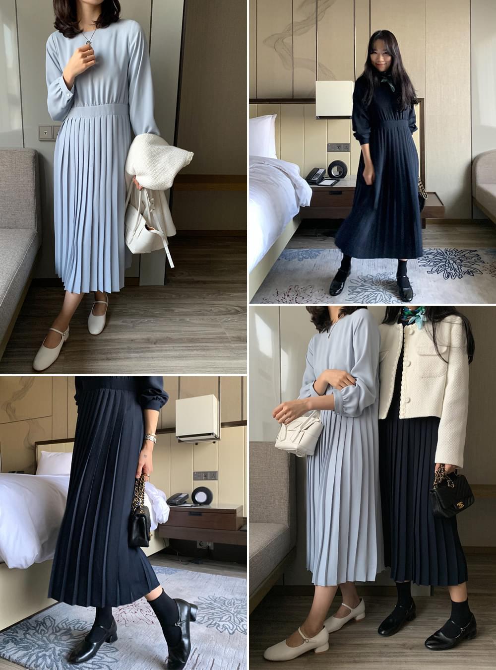 MMMM modern pleated Dress