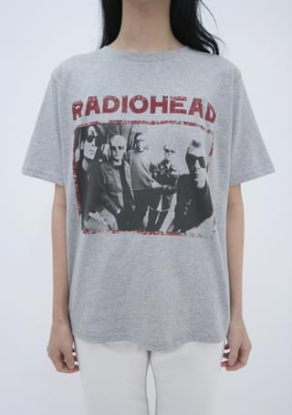 radiohead printing tee