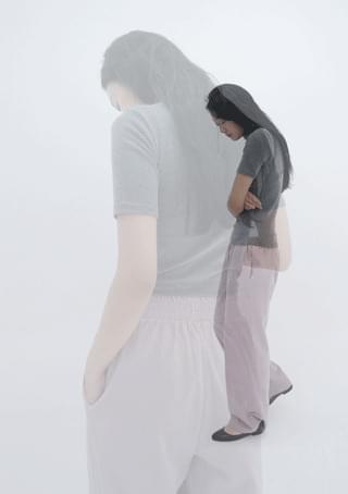 mute corduroy pants