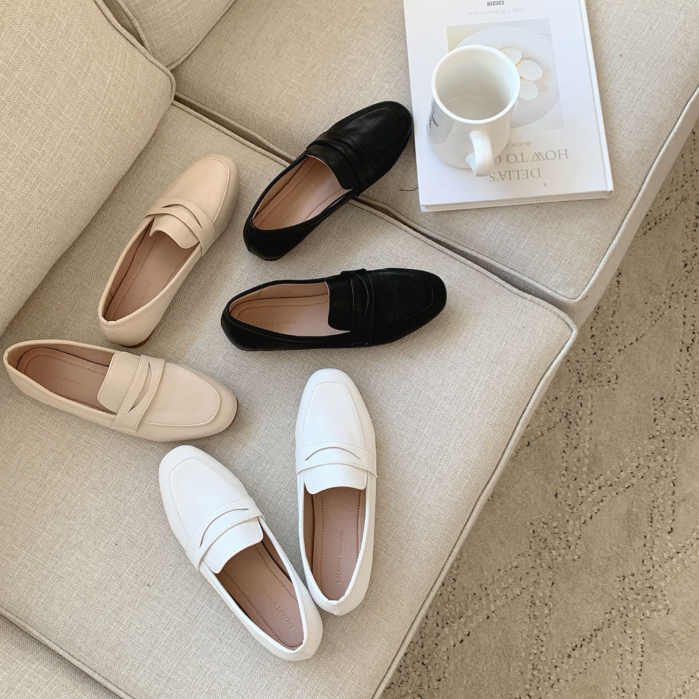 Classic Soft Penny Loafers 1cm