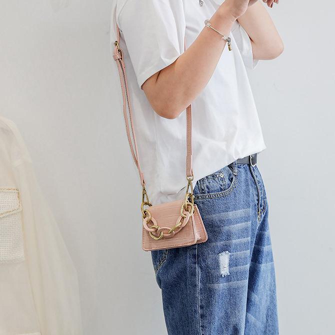 Square Chain Mini Square Cross Shoulder Bag