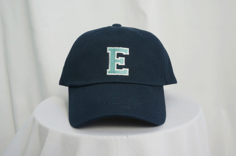Faded embroidered ball cap