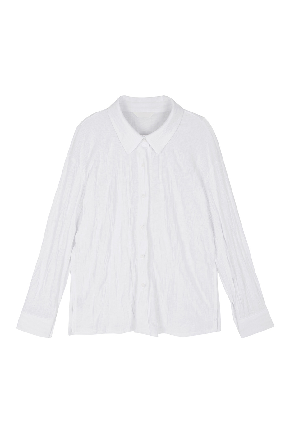 Mark crease collar blouse
