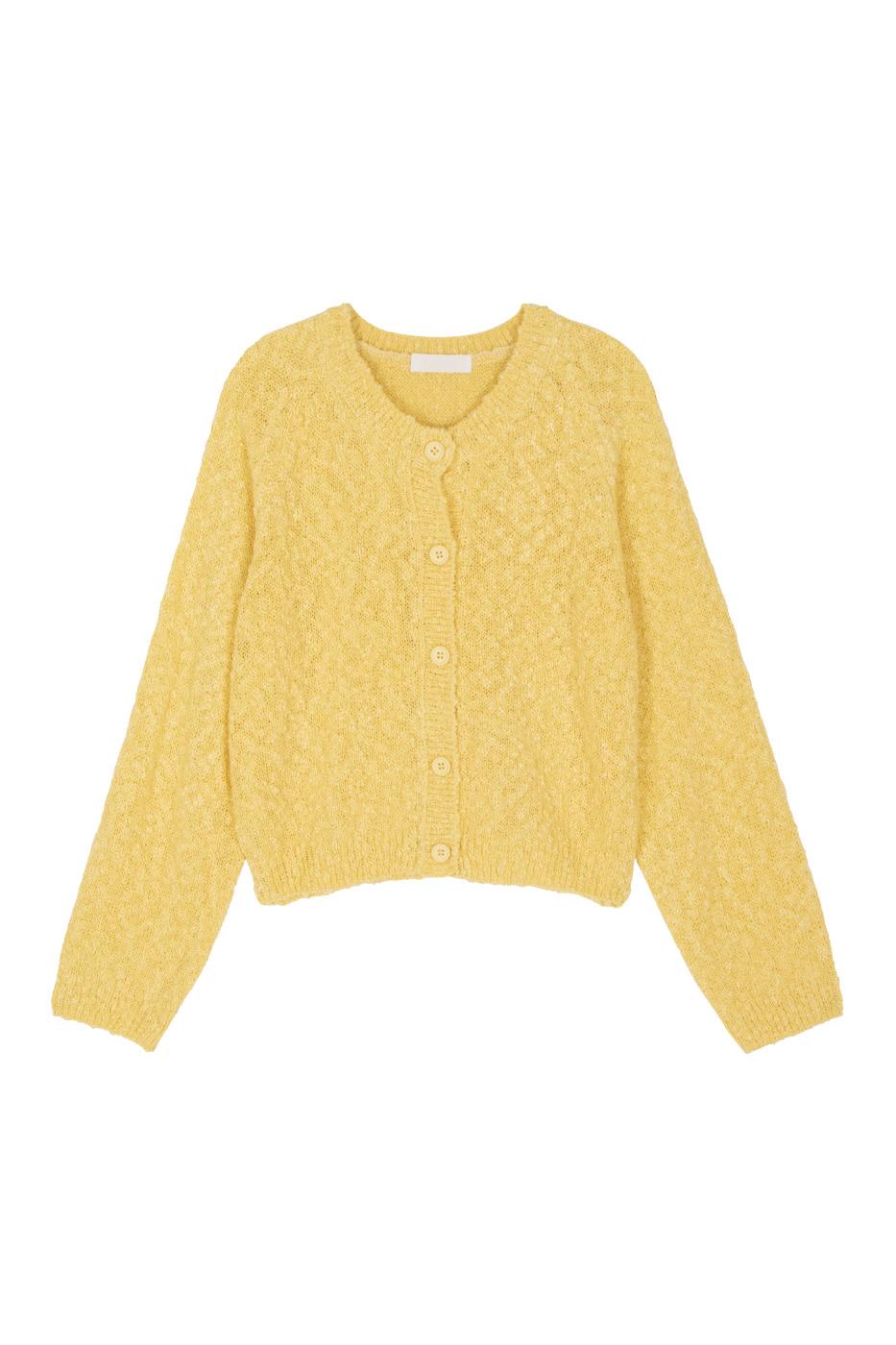 Slime Booklet Knitwear Cardigan