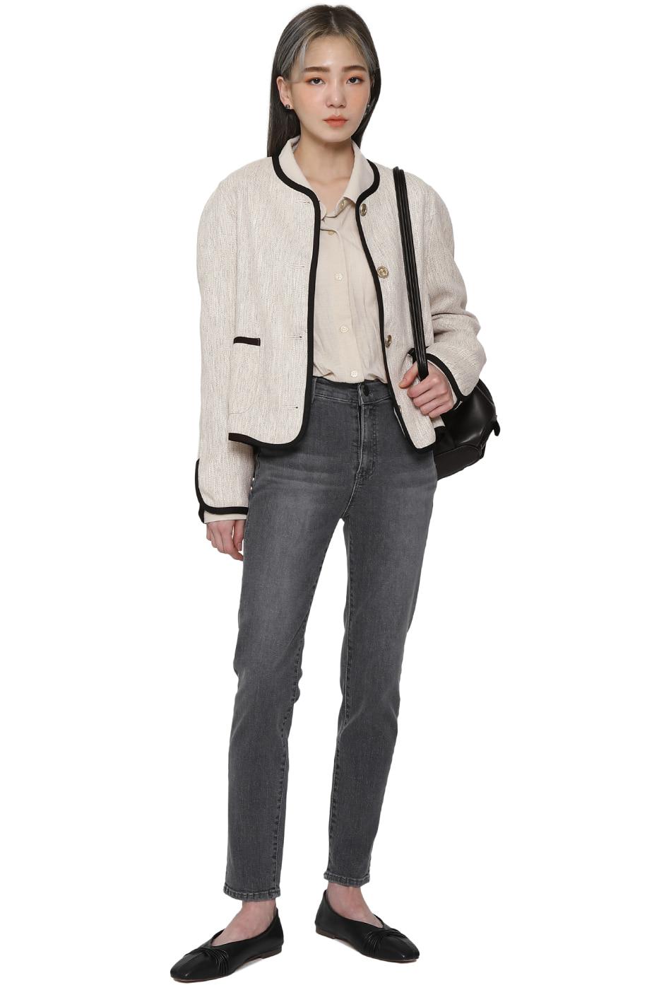 Manny Gray Skinny Jeans