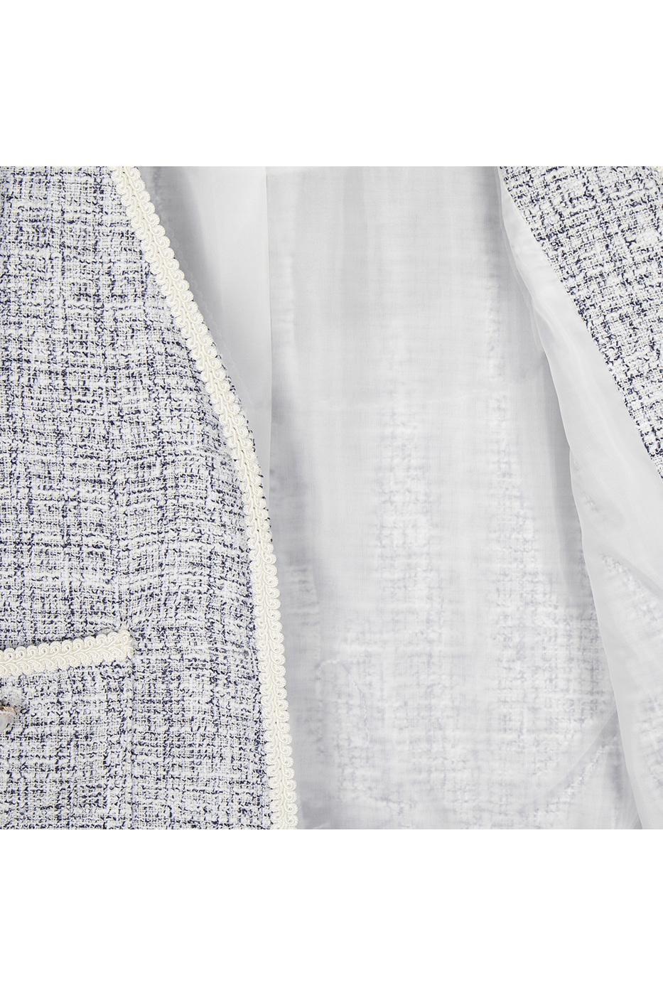 Grace binding tweed jacket