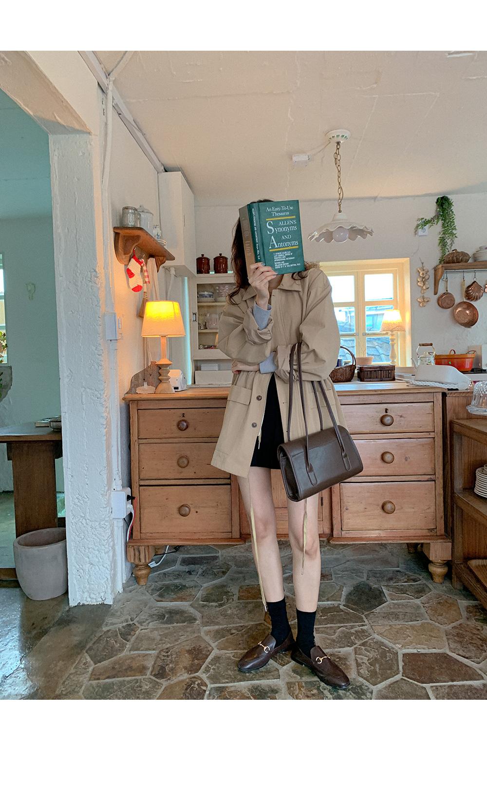 Flea Modern Square Shoulder Bag
