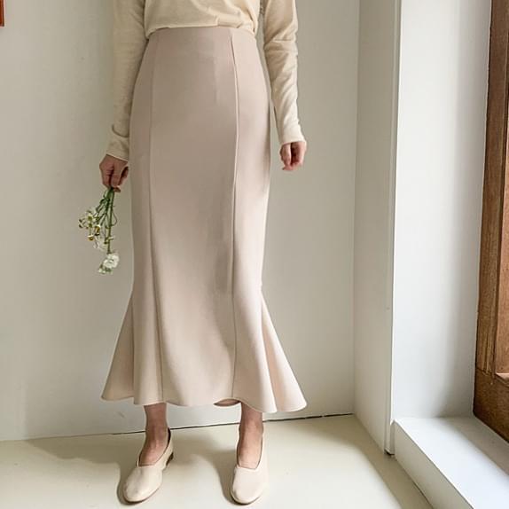 Dress Fit Long SK Elegant Mermaid Line: D