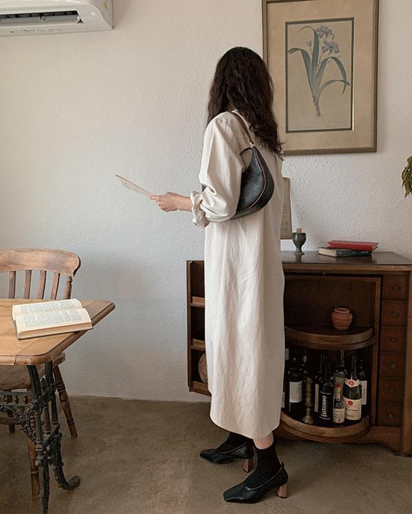 Enna Unbald Shirt Long Dress