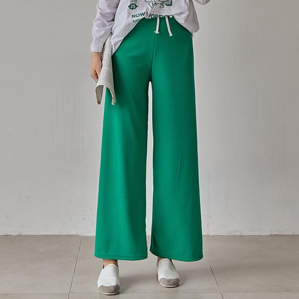Candy Wrinkle Free Wide Banding Pants #76077