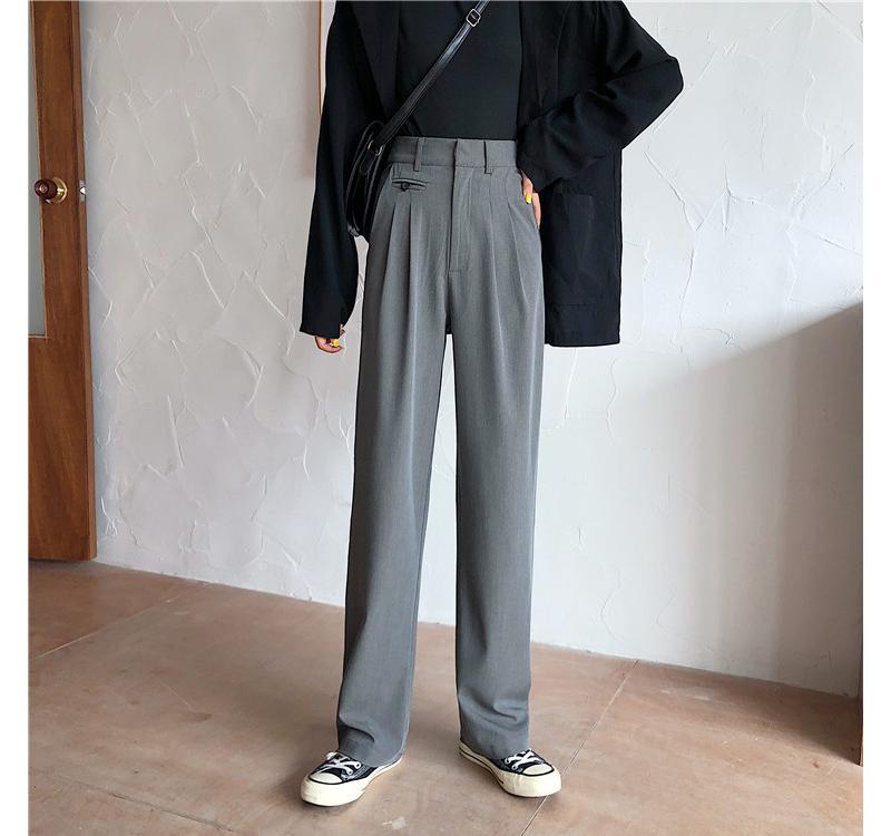 sl0983 tender pintuck slacks