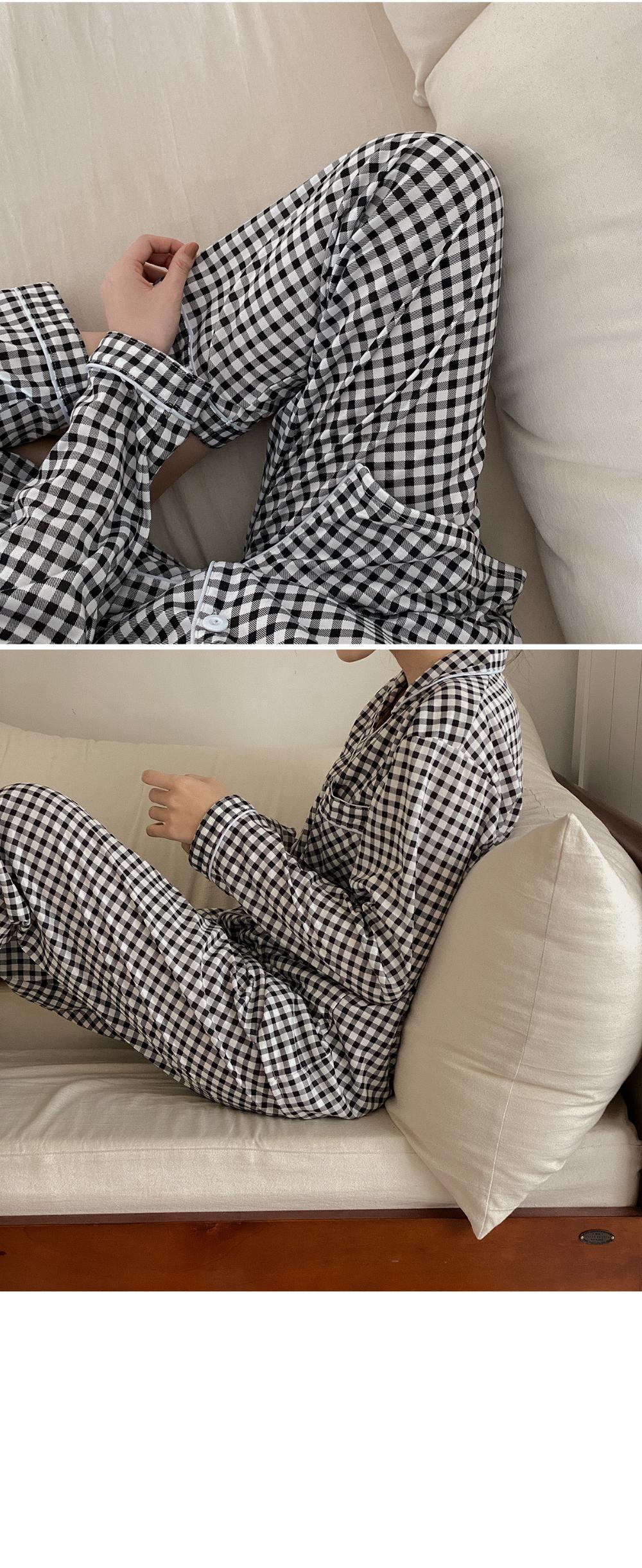 Punch Check Pajama-set